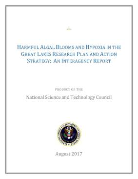 Harmful Algal Blooms Report cover