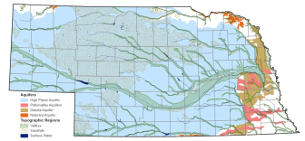 nebraska aquifer map